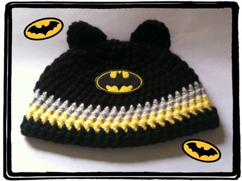 BATMAN Baby Hat | Baby Toddler Kids Size | NEW | Made For The Size You Need