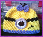 Minion Hat | Adult Size Unisex | NEW | Made For The Size You Need