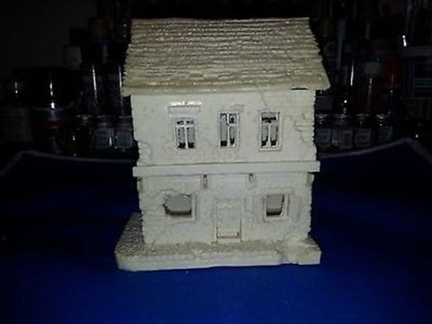 WWII 15mm Normandy House/Shop - 2 Story building - Flames of War Gaming Terrain Cast In Resin