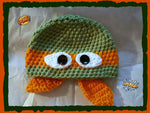 Ninja Turtle Hat | Adult Size Unisex | NEW | Made For The Size You Need