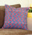 Multicolored Mosaic Quilted Throw Pillow Cover