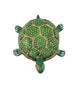 Brass Colored Turtle - Little Elephant