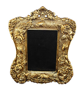 Brass Golden Floral Frame - Little Elephant
