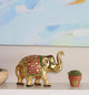 Elephant Metal Figurines