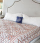 Chintz Pattern Block Print Bedspread Set - Little Elephant