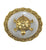 Brass Turtle On Round Plate - Little Elephant