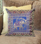 Elephant Design Silk Brocade Cushion Cover Set - Little Elephant