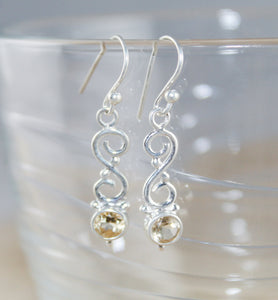 Arabesque Drop Earrings - Little Elephant