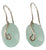 Chalcedony Drop Earrings - Little Elephant