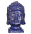 Blue and Gold Buddha Head - Little Elephant