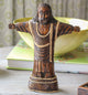 Wood Carved Jesus Figurine - Little Elephant