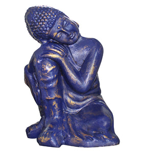 Resting Buddha Sculpture - Little Elephant