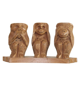 Three Wise Monkeys - Little Elephant