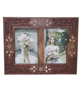 Double Picture Frame - Little Elephant