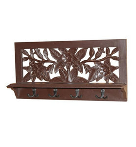 Floral Coat Rack - Little Elephant