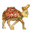 Etched Brass Camel Figurine