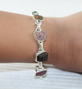 Tourmaline Link Bracelet - Little Elephant