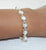 Sterling Silver Pearl Bracelet - Little Elephant