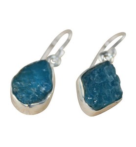 Apatite Drop Earrings - Little Elephant