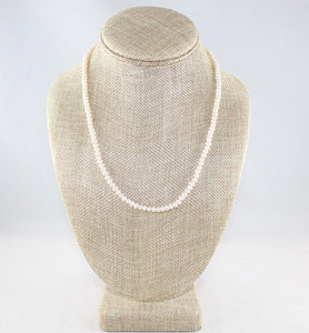 Dainty Pearl Necklace - Little Elephant
