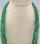 Double Strand Semi Precious Green Beaded Stones - Little Elephant