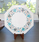 Octagon Pietra Dura Marble Table - Little Elephant