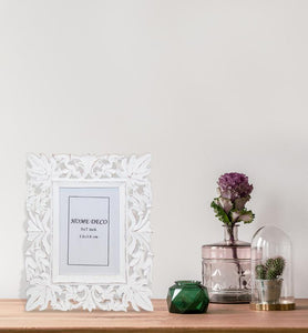 Floral Textured Picture Frame