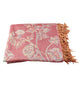 Artisan Crafted Silk Throw - Paisley - Little Elephant