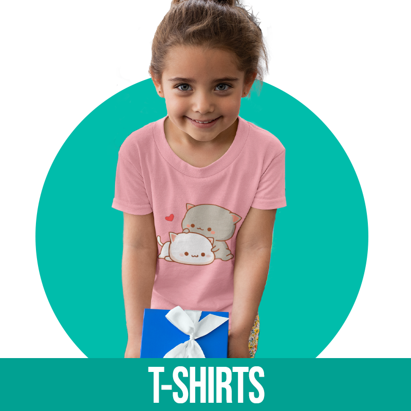 t-shirt chat enfant
