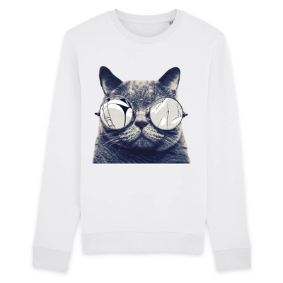 pull chat lunettes