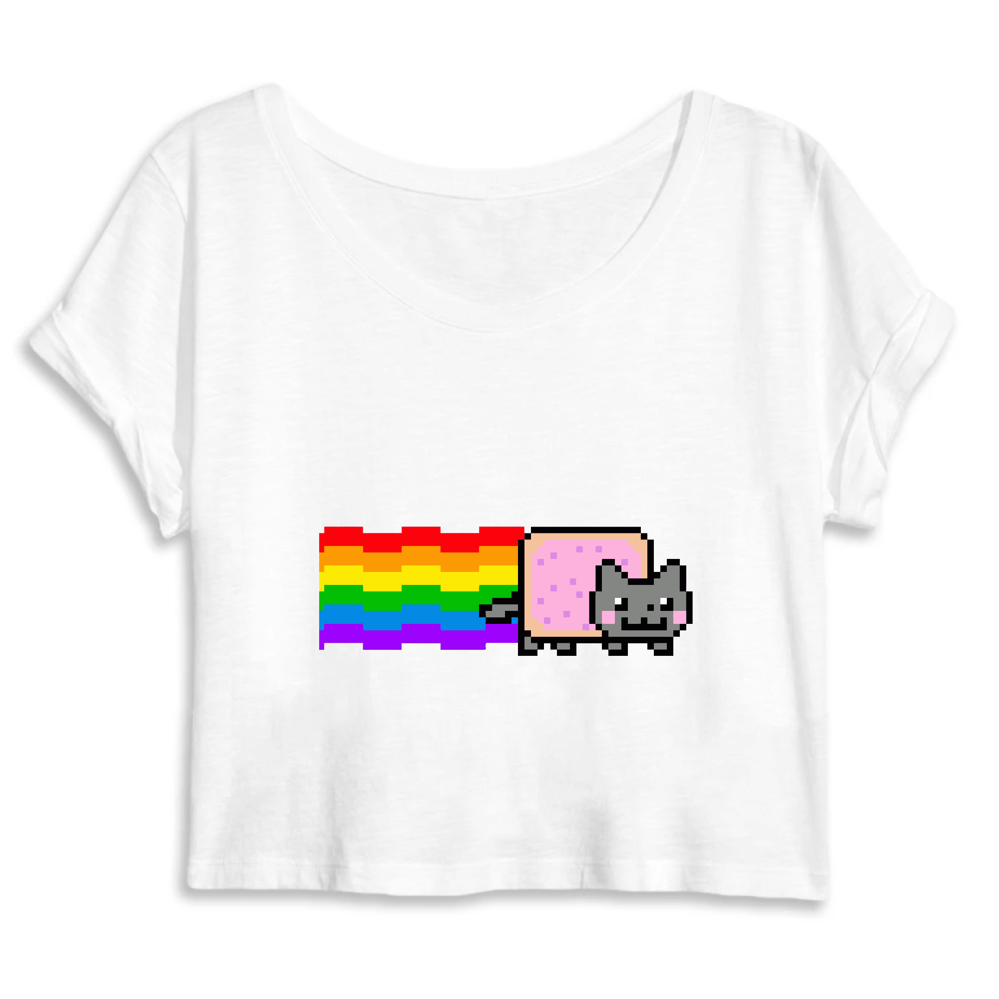 crop-top nyan cat
