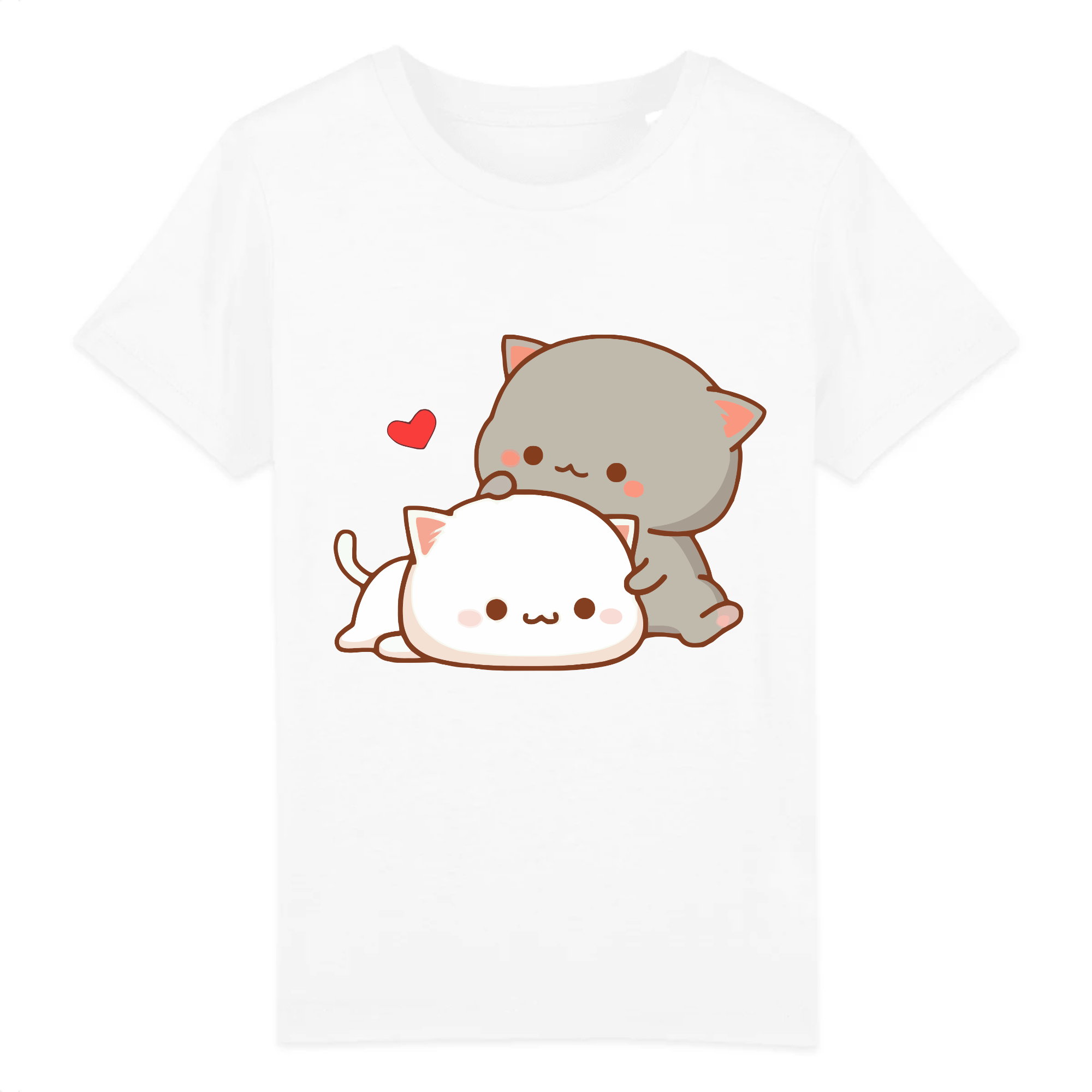 T-Shirt Chat Kawaii Enfant