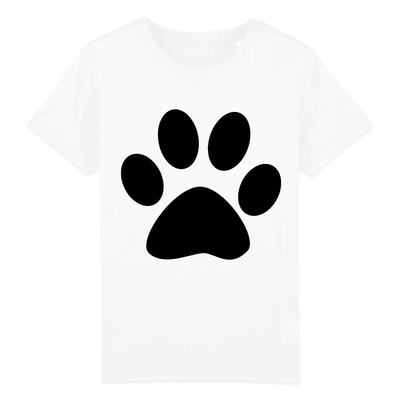 T-Shirt patte de chat enfant