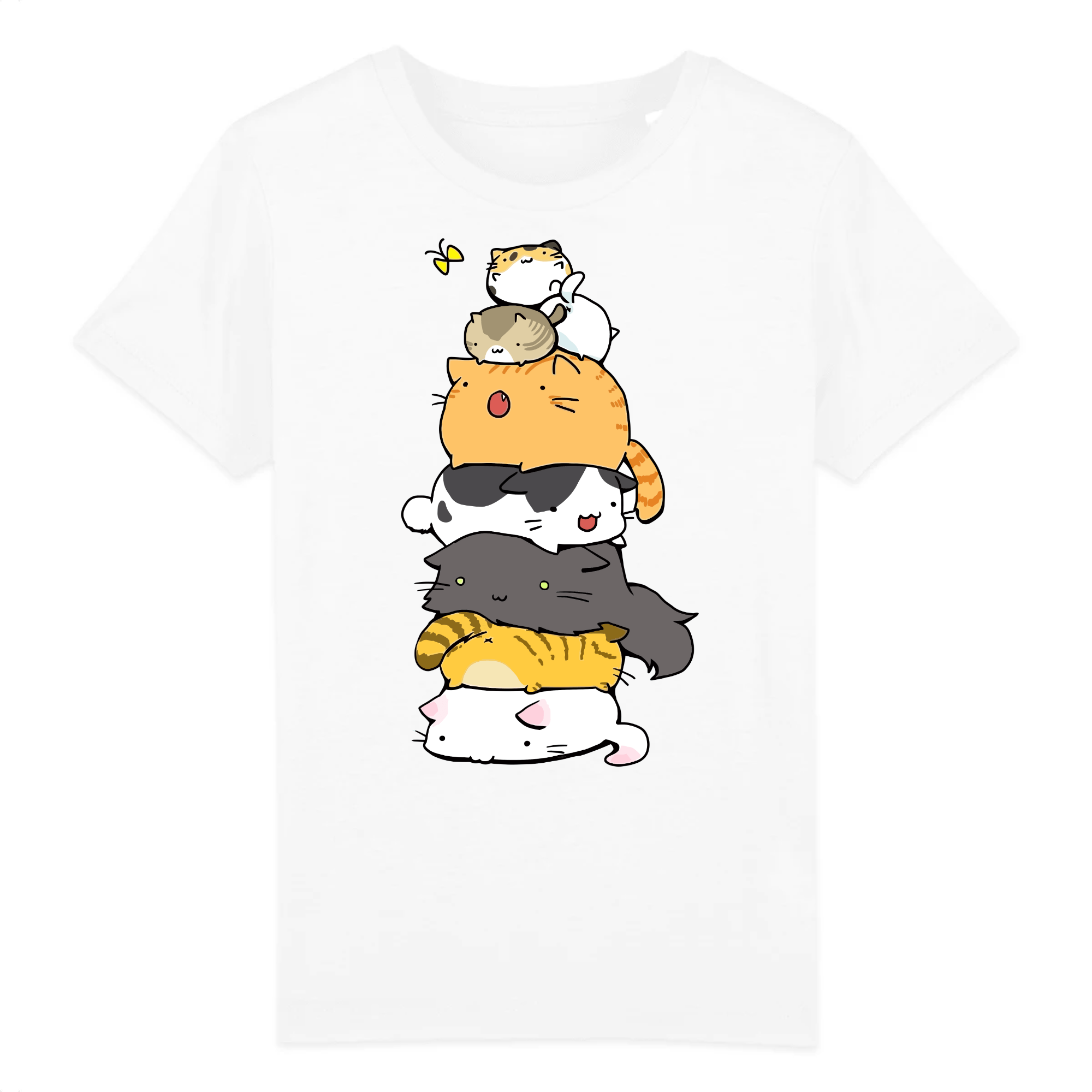 t-shirt chat totem enfant