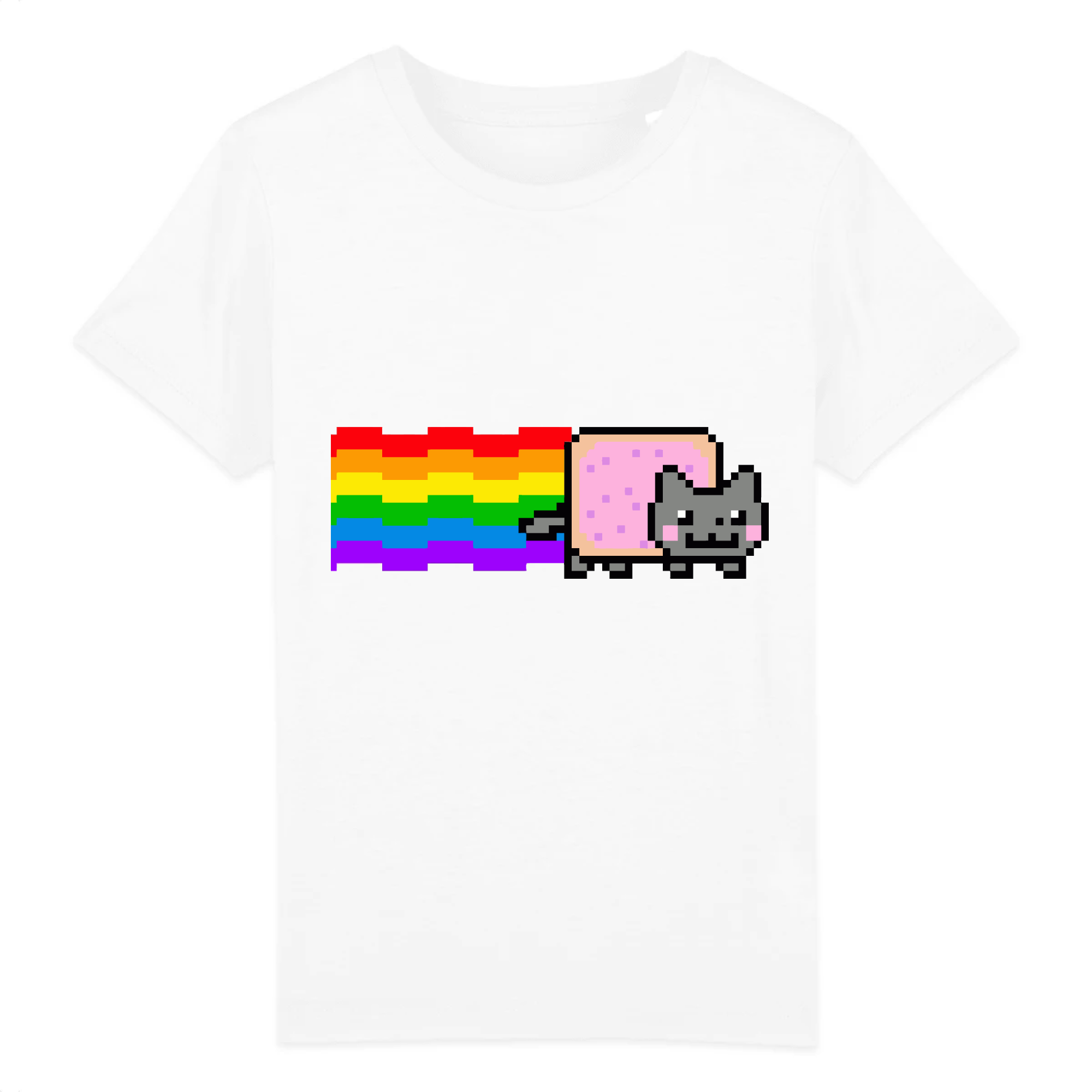 t-shirt nyan cat enfant