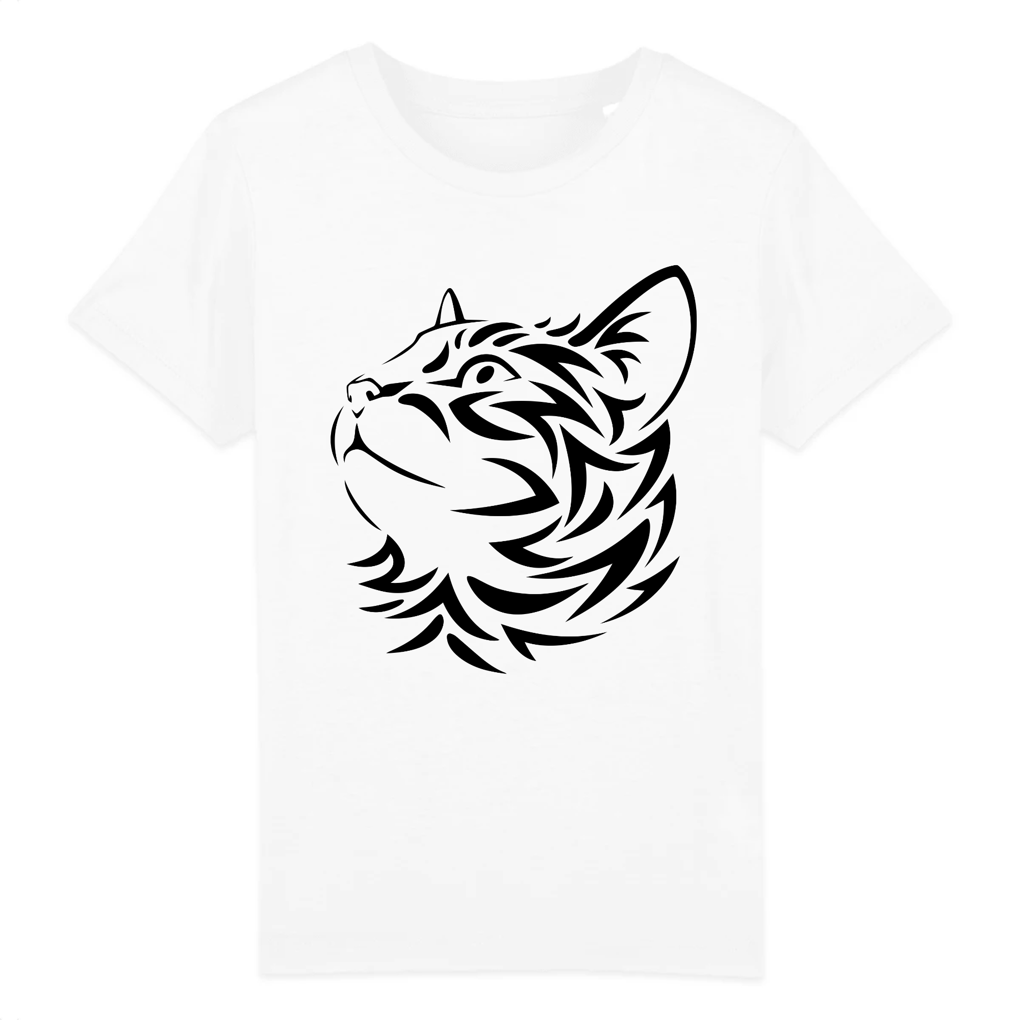 t-shirt motif chat enfant