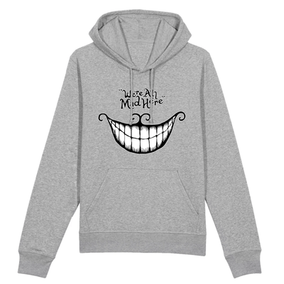 sweat chat du cheshire couleur gris