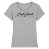 t-shirt chat-pristi classic couleur gris