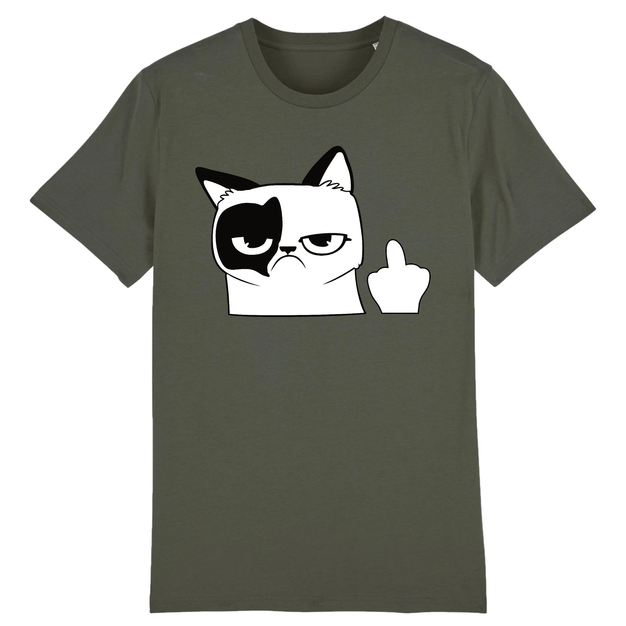 Tee-Shirt Chat Doigt