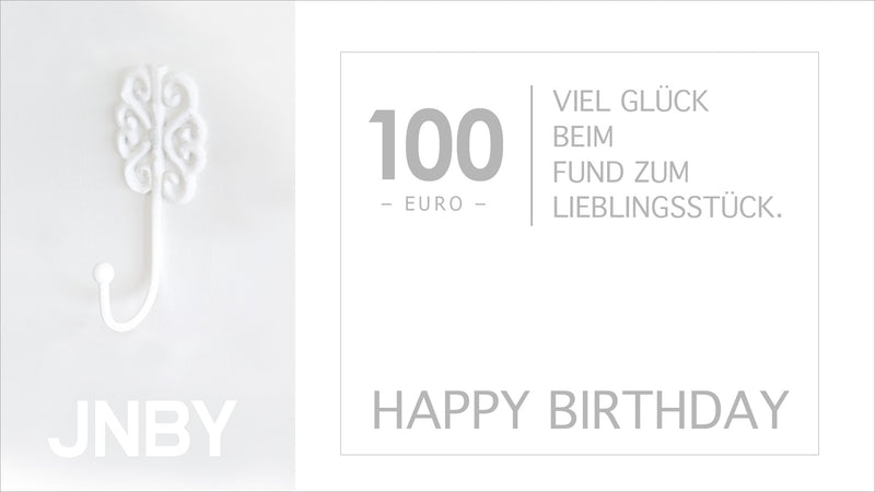 Happy Birthday 100 Euro Gutschein
