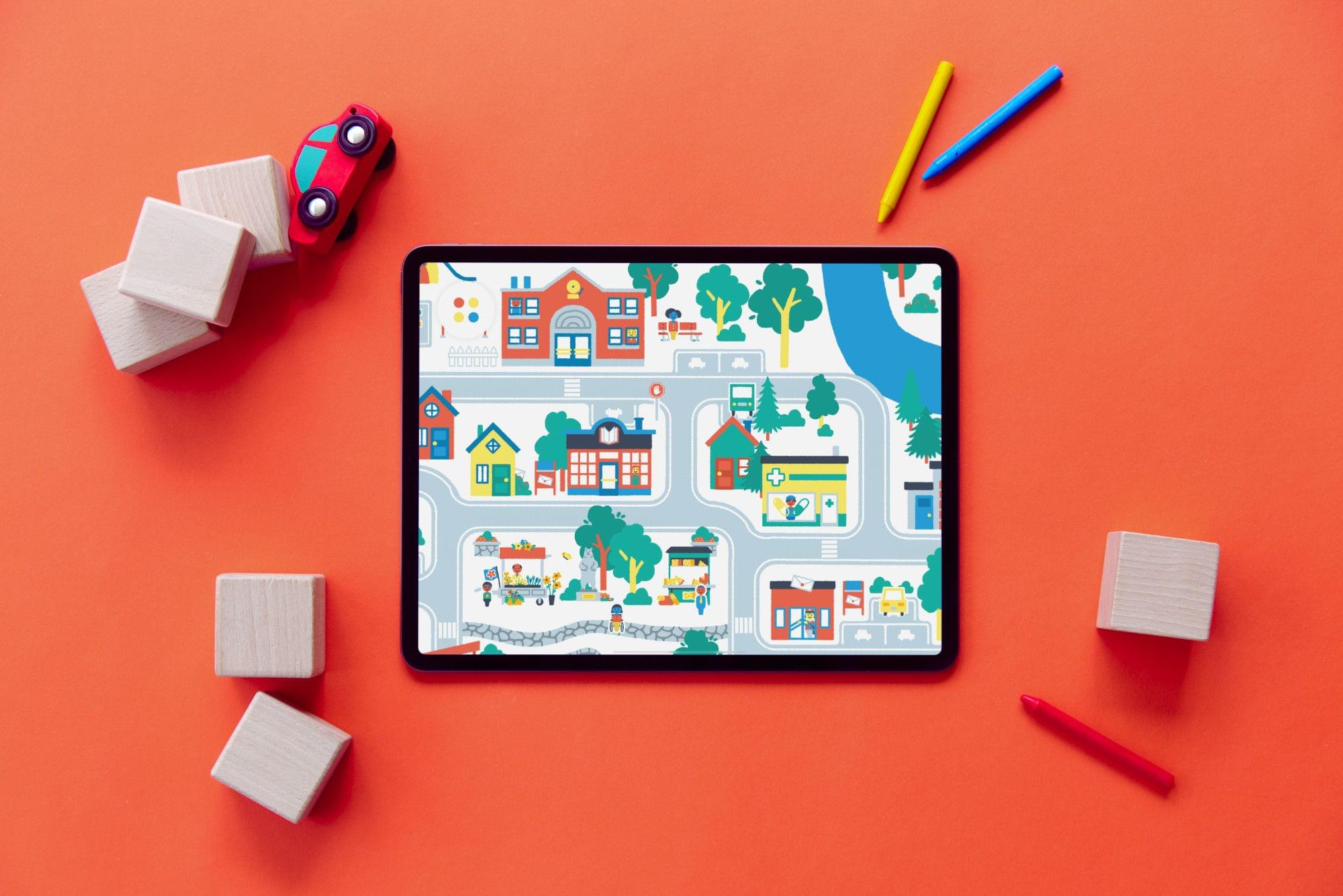 Snowman Announces New Creative Studio and Its First App, Pok Pok Playroom, A Digital Play Experience for Kids