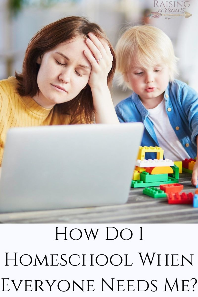 Homeschooling When Everyone Needs You