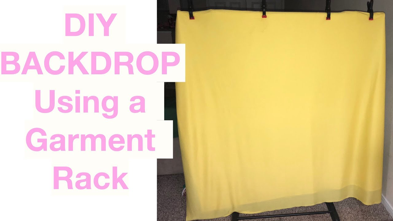 DIY $8 Backdrop Stand | CHEAP AF | How to make a backdrop stand for CHEAP by Niecy Mays (2 years ago)