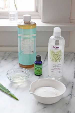 DIY: Homemade Dish Soap