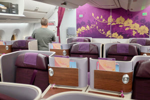 Sky Family: Thai Airways' A350 in Business Class From Bangkok to Frankfurt