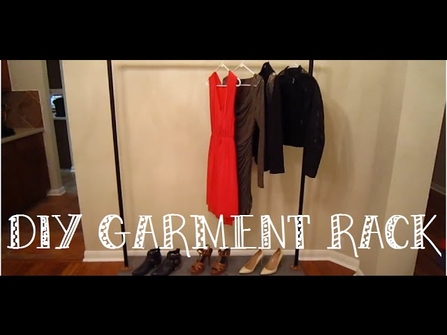 DIY: Industrial Style Garment Rack by &louie (6 years ago)