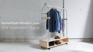 DIY Garment Rack EP31 by HomeMadeModern (6 years ago)