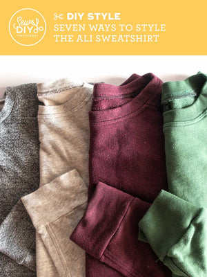 VIDEO Seven ways to style the Ali Sweatshirt