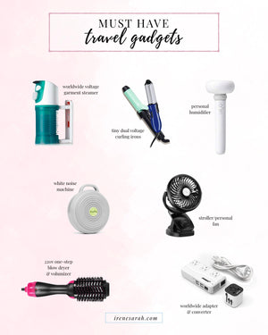 Happy Monday! As I'm getting ready to head to the airport for the next stop of our October adventures, I wanted to officially share my essential travel electronics with you! I've shared a few on my stories and you guys were so into it; I didn't want...
