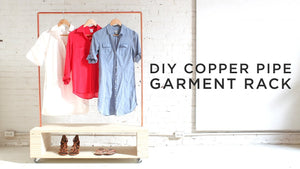 DIY Copper Pipe Garment Rack by HomeMadeModern (4 years ago)